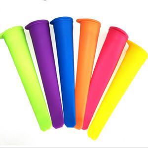 Popsicle moule en silicone coloré moule Ice Cube DIY été Ice Cream Maker Ice Pop Maker Mold Livraison gratuite