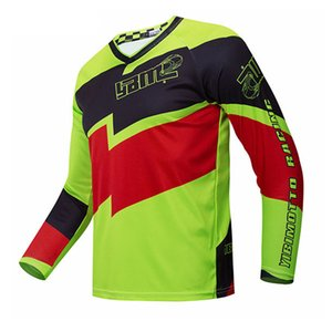 Off-road Suits Motorcycle Jersey Speed-gota Ciclismo Roupa de secagem rápida, suor wicking mangas compridas T-shirt