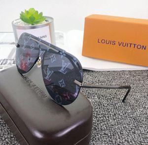 Men Women Retro Round Sunglasses Ladies Brand Designer Luxury Metal Color pink Vintage Mirror Polygonal Oversize Sun Glasses NO BOX