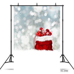 Weihnachtsgeschenke Schnee Flare Bokeh Foto Hintergrund Vinyl-Studio-Hintergrund für Kinder Baby-Photo Fotografie Props Photo Booth