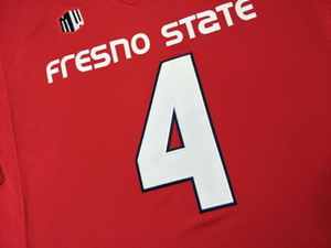 CUSTOM Les hommes, les jeunes, les femmes, enfant en bas âge, Fresno State Bulldogs personnalisé TOUT NOM ET NUMÉRO FORMT Cousu Top jersey College Qualité
