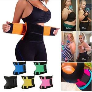 Las mujeres forman la aptitud de Cintura Cintura Trainer talladora del cuerpo de fajas para adelgazar Pérdida faja Correa del corsé de la cintura del condensador de ajuste de modelado correa Peso