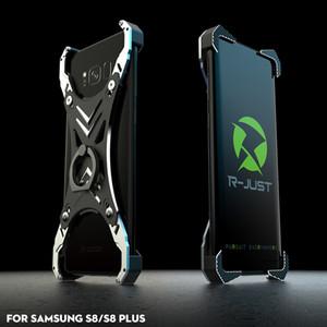 Yaratıcı Matel Alüminyum Alaşım Ayarlanabilir Koruma KılıflarıCover Samsung Galaxy S8 Artı Kılıf için Kickstand Braketi Ile 360 Dönd ...