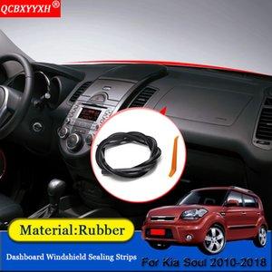 QCBXYYXH Car-стилизации автомобиля Rubber шумозащитных Звукоизоляция пыле приборной панели автомобиля лобовое стекло уплотнительная лента для Kia Soul 2010-2018