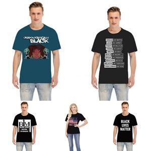 Nero Lives Matter! Progettista del Mens delle camice di vestito classica Lattice camicia di lusso casual Skateboard T Shirte Alphabet Stampa Hip Hop Streetwear # 98