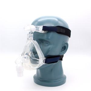 cpap maschere cpap maschera nasale apnea del sonno bocca e nasale maschera con copricapo per cpap macchine per apnea del sonno diametro del tubo 22mm
