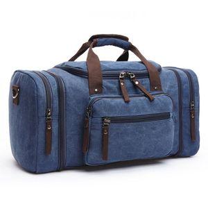 Top quality mens Outdoor travel luggage bag men totes Sport Canvas handbag shoulder duffle bag 2019 fashion designer bags