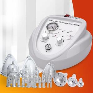 الكهربائية فراغ Therapi آلة الليمفاوية الصرف / الوجه التخسيس / الثدي المكبر الجمال تعزيز الحجامة جهاز