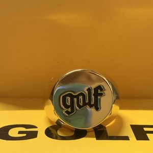 GOLF WANG OLDE LOGO tyler the creatore Anello Hip-hop Rap Fashion Personality Rings