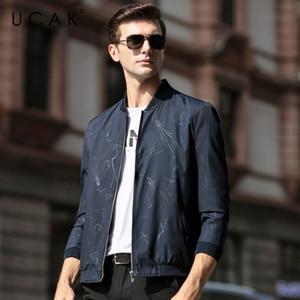 UCAK бренд повседневная молния Chaquetas Hombre Мужская одежда Куртки 2020 Весна новое поступление блузон Homme Мужская одежда пальто U8083