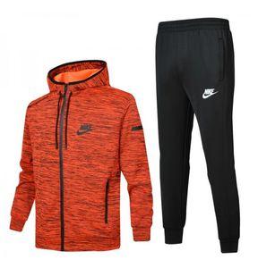 Para hombre Chándales 2019 Windbreaker + Pants Sports Running Set College High Street Style Kits Moda Casual Trajes Pantalón de abrigo