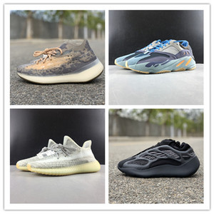 Новые низкоуглеродистой синий Ешая Земных людей облако белых кроссовок спортивной тренировка мода качества топ тренеры с размером коробки 4-13