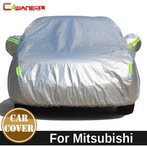 Cawanerl Für Mitsubishi Lancer Airtrek Outlander Raum verdicken Baumwolle Car Cover Waterproof Sun Snow Regen Hagel Staub schützen Sie Abdeckung