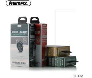 سماعة الأصلي ريماكس RB-T22 T22 ريماكس مصغرة لاسلكي سماعات بلوتوث V4.2 السيارة مع مايكروفون للحصول على الهاتف الذكي