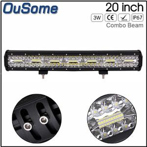 """24 meses de garantia 20"""" polegadas 420W impermeável Trabalho LED Light Bar para offroad caminhões 4WD Boat SUV ATV Barco Lâmpadas Driving"""