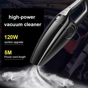 Автомобильный пылесос Главная 4000pa Сильная мощность 12 V 120W циклонные Wet / Dry Авто Портативные пылесосы Очиститель