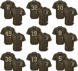 Baltimore Orioles 8 Cal Ripken Jr. 13 Manny Machado 20 Frank Robinson 12 Roberto Alomar 33 jerseys Eddie Murray