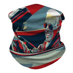 Herbst-Winter-Biden Mask Marke Luxus Double Face Kaschmir Pashmina Biden Maske Schal lange Briefe Biden Maske Wraps # 542