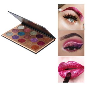 Beauty glazed 15 color sequins, eye shadow, pearlescent high gloss eye shadow Amazon explosion