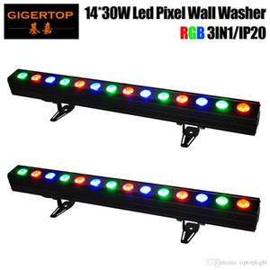 Freeshipping 2 unités 14x30W COB RGB 3en1 Disco Lights Wall Washer lumières DJ Lumières Par Lampe LED pour Party Events de mariage d'éclairage