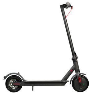 ABD Depo Nakliye 8.5 inç alüminyum alaşım hava lastiği elektrikli scooter 36V 250W güç 7.8AH Hamur yetişkin güçlü scooter Hızlı teslimat