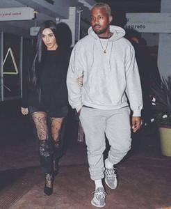 Kanye Été 2018 SAISON 6 Sweatpants High Street de haute qualité coton quatre couleurs Hip Hop Fashion Designer