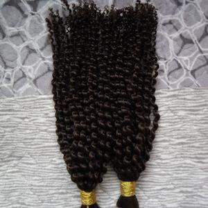 التضفير الإنسان السائبة 2 السائبة قطع الإنسان التضفير الشعر لا اللحمة بيرو الشعر حزم موجة المياه حزم التضفير الشعر