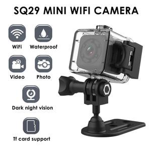 Su geçirmez Shell Gece Versiyon Hareket DVR Mikro Kamera Spor DV Kamera ile SQ29 Mini Güvenlik Kamerası 480P Spor Wifi Kamera