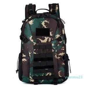 Outdoors Tactics Bag Hiking Camping Mountaineering Function Wear Resistant Waterproof Tactic Both Shoulders Backpack