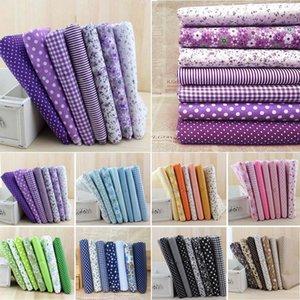 7pcs Cotton Cloth Sewing Patchwork Assorted Squares PreCut Quilt Quarters Bundle 2525cm For DIY Handmade Crafting Doll Fabric Clothing Fabri