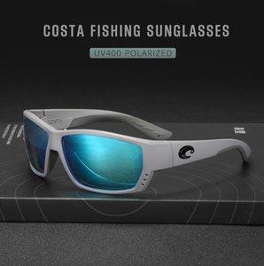Uomo Mare occhiali da sole Costa Tuna Alley ROVO colorato polarizzata lente TR90 Surf / Pesca vetri le donne occhiali da sole firmati di lusso