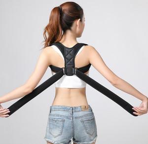 Einstellbare Körperhaltung Korrektor Rückseite Schulterstütze Correct Brace Gurt-Mann-Frauen-Klammer-Unterstützung Rücken Schulter Haltungskorrektur KKA7789