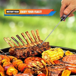 Household Kitchen BBQ Digital Probe Electronic Thermometer Barbecue Food Cooking Termometro Temperature Measuring Tool & Pen Cap