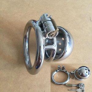 Человек Chastity Hand-Polished - Chastity Device Оптовая сталь из нержавеющей стали из нержавеющей фаллоимитаторной коробку