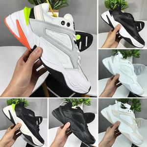Nike Air Monarch the M2K Tekno Дизайнер Air Monarch M2K Tekno Dad Спортивная обувь Высококачественные женские мужские спортивные кроссовки Zapatillas White Euro 36-45