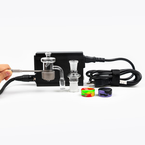 Hohe Qualität od 25mm männlich eMail Banger E-Nail Coil Heizgerät 110V 100W Spulenheizung Elektrische DAB Nagel Pen Rig Wax Box Kit