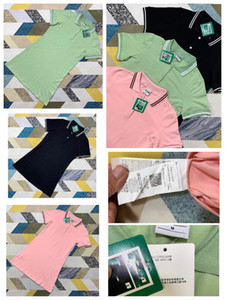 Frauen-Polorock-Kurzschluss-T-Shirt der PM-Qualitäts klassisches festes Baumwollfrauen homme Poloshirt der Frauenpolos