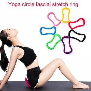 Поддержка сопротивления Йога Круг Оборудование Многофункциональный Yoga кольцо Pilates Workout Fitness Training Circle Tool теленок Главная