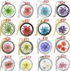 Плавающий медальон ожерелье круглый смолы кабошон живой сухой одуванчик кулон унисекс реальные сухие цветы кулон стекло террариум аксессуары