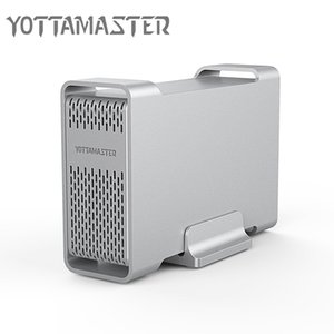 heap HDD Enclosure Yottamaster 2.5 Inch Aluminum Docking Station USB3.0 Type-C to SATA3.0 External Hard Drive Disk for HDD SSD Case Box E...