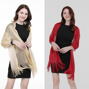 2020 Hot Sale High-quality Fashion Party Shawl Tassel Scarf Popular Comfortable Clothing Accessories Elegant Ladies Scarf Cheap