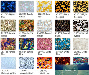 Acrylic (PMMA) Two-Sided Celluloid Color Sheets