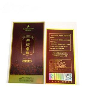 Personalizado completo die cor corte impermeável ouro impressão de prata foild selo vinil etiquetas etiqueta adesivas para embalagem