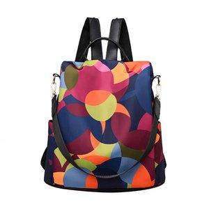 Wild Women viaggio zaino colorato in tessuto Oxford Student sacchetto di scuola zaino Mochilas Mujer 2020 Mochila Feminina # F5