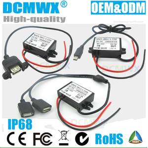 DC 12V 24v 36v 48v к 5v USB двойной батареи мини микро понижающий преобразователи автомобиля или переключение выхода понижающего источника питания 5V Constant