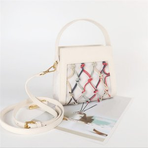 2020 fashion designer handbags, new positive and negative leather handbags, casual luxury accessories, hand-woven shoulder bags, free shippi