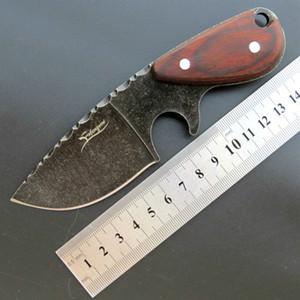 Nuovo eafengrow EF103 440C manico in legno lama fissa tattica di caccia diritta Knife multi degli attrezzi di sopravvivenza della tasca di natale coltello regalo Adker
