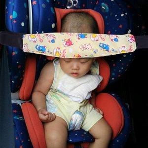 Passeggino seggiolino auto Sleeping aggancio a cintura capo della cinghia di sostegno del fumetto capretti dorme posizionatore capo Per imparare regolabili