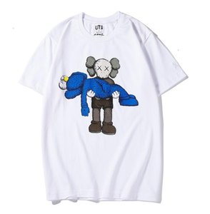 new lovers shirts man women casual t-shirt short sleeves UNIQLO X KAWS X SESAME STREET L fashion coat clothes tees outwear tee top7VW5