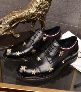 2020 новый мужской кожаный платье обувь мужская вышивка ручной работы мода костюм обувь удобное качество бесплатная доставка